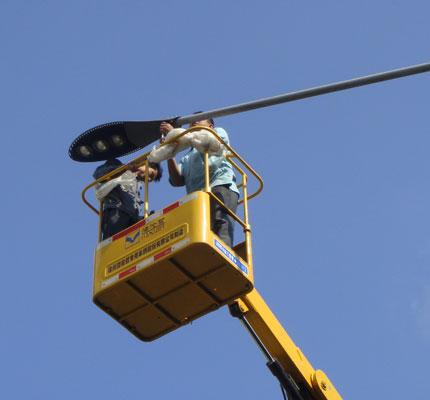 路灯照明节能改造