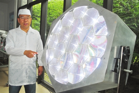 超远程LED投光灯,可照射10公里
