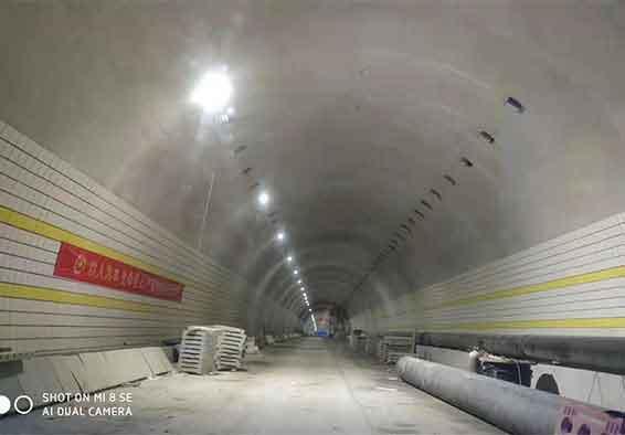 大嶺埂隧道 LED隧道灯项目