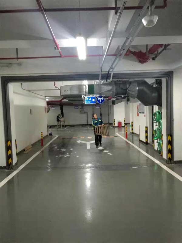 深圳地下停车场LED节能改造项目