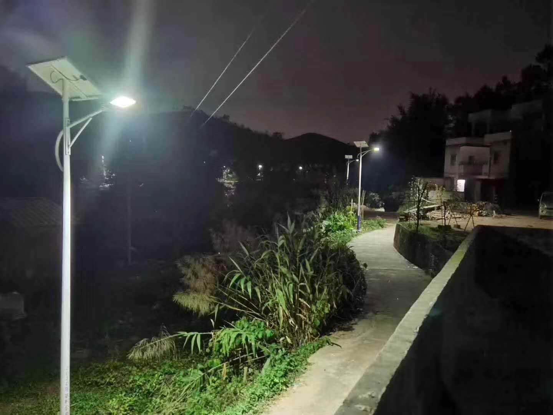 广东惠州博罗 太阳能路灯项目