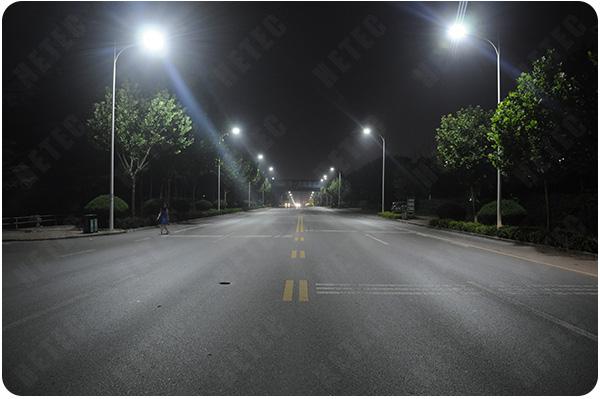 汉鼎LED路灯改造案例图