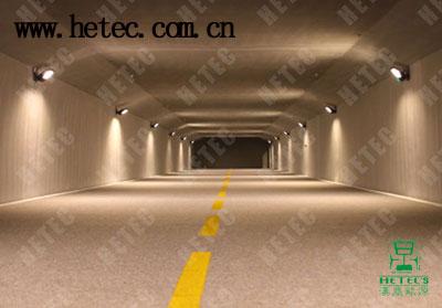 大功率LED隧道灯模拟隧道